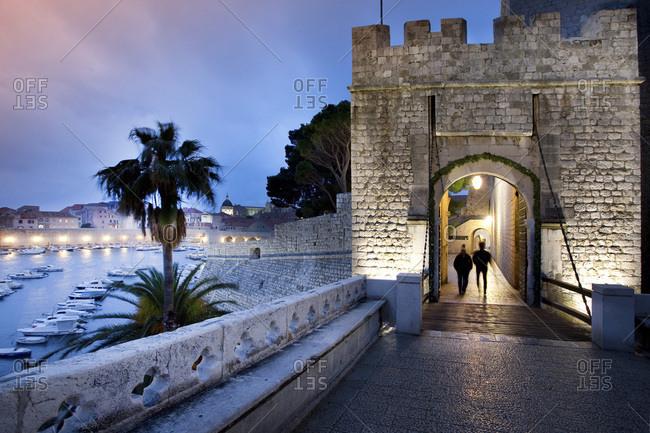 Croatia, Dalmatia, Dubrovnik, Mediterranean sea, Adriatic sea, Adriatic Coast, The Harbor