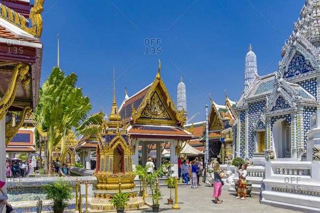 Bangkok,  Thailand - March 6, 2016: The Grand Palace