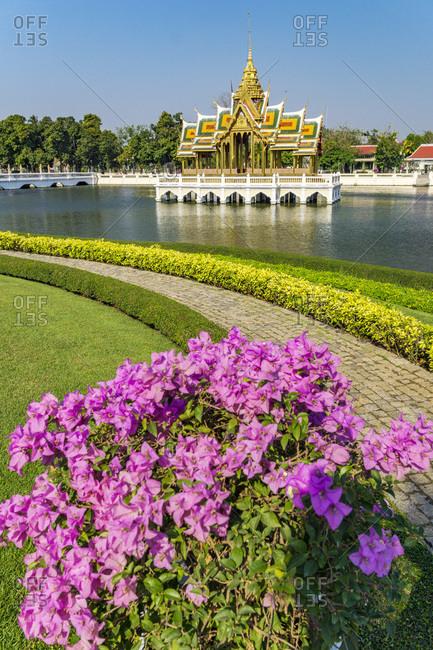 Bang Pa-In Royal Palace, also known as the Summer Palace, Aisawan Thiphya-Asana