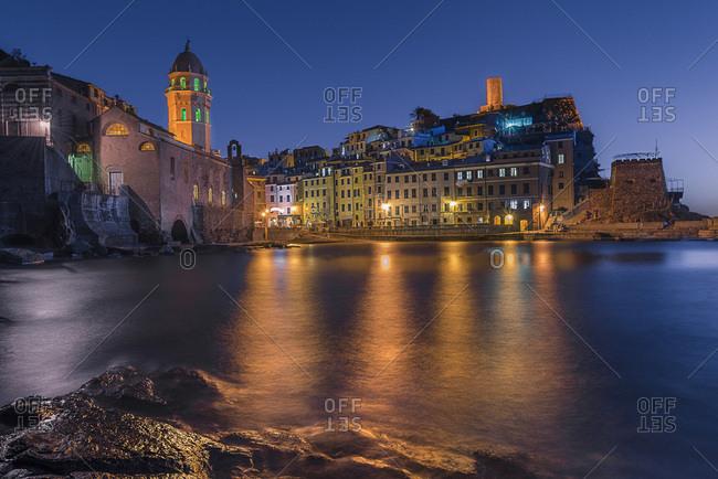 Italy, Liguria, La Spezia district, Ligurian sea, Ligurian Riviera, Parco Nazionale delle Cinque Terre, Vernazza