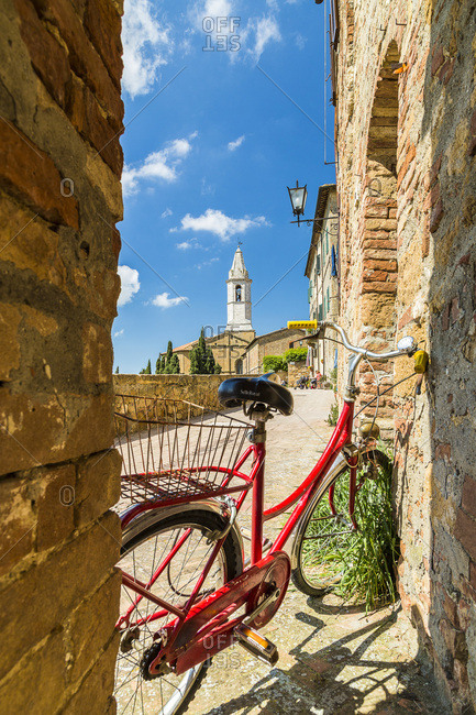 The town of Pienza