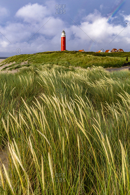 The Eierland lighthouse, near De Cocksdrop village