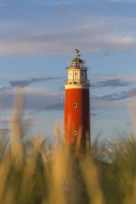 The Eierland lighthouse, near De Cocksdrop village