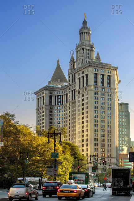 New York City, USA - September 7, 2016: New York City Hall