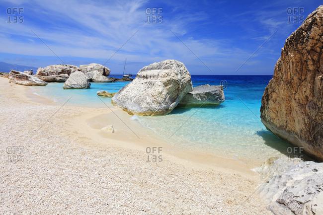 Cala Mariolu, One of the most impressive beaches along the Orosei Gulf coast