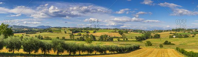 View of Perugia from San Martino dei Colli