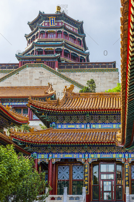 Summer Palace and the Imperial garden