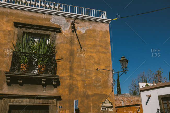 Spanish style building