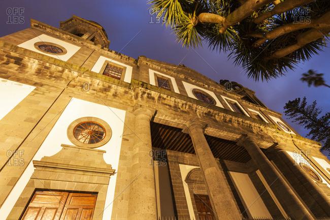 Spain, Canary Islands, Tenerife, San Cristobal de La Laguna, Cathedral of La Laguna