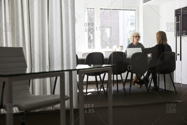 Businesswomen during meeting