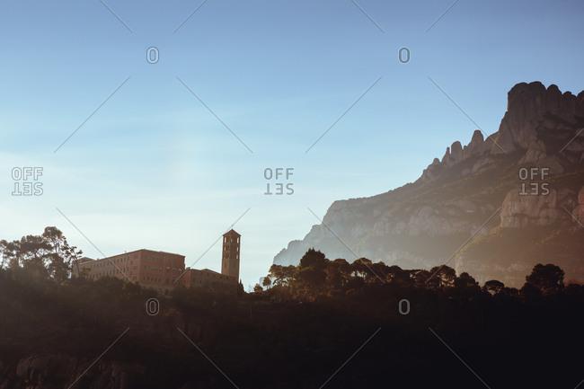 Benet Monastery, Montserrat, Catalonia, Spain