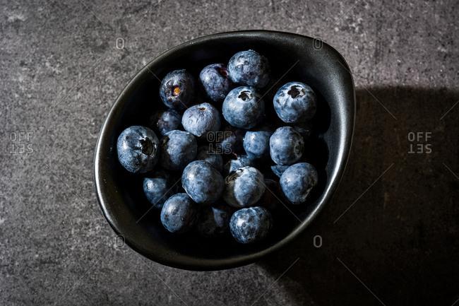 Blueberries Bowl