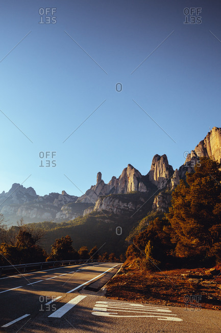Mountains of Montserrat