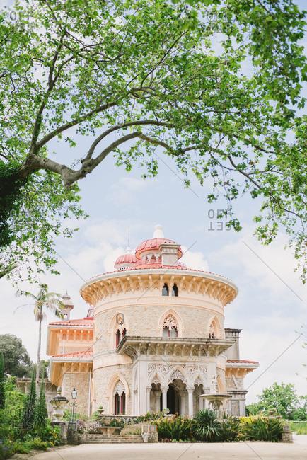 Montserrat Palace in Sintra, Portugal