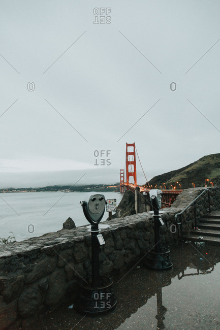 Overlook by Golden Gate Bridge