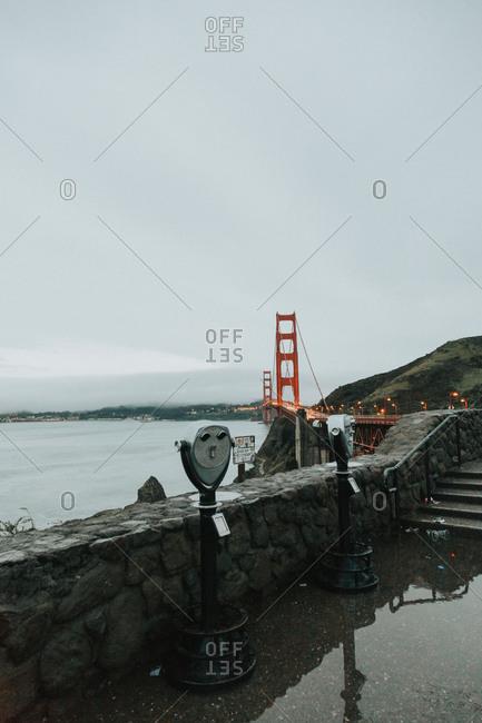 Overlook by Golden Gate Bridge