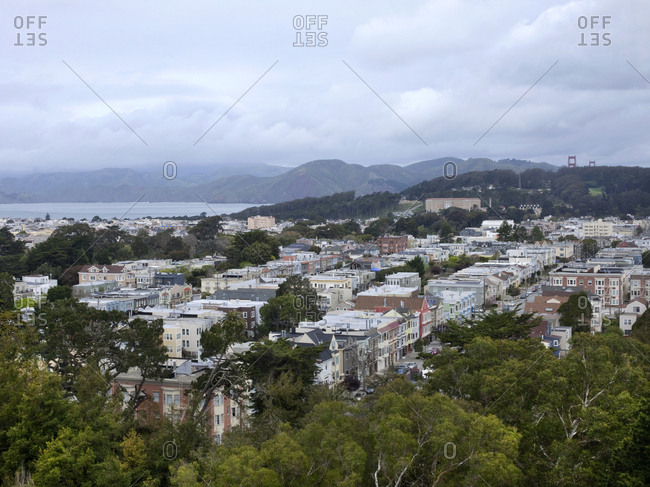 View of San Francisco from Tank Hill
