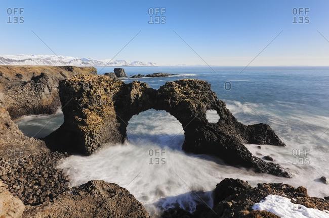 Iceland- Arnarstapi cliffs