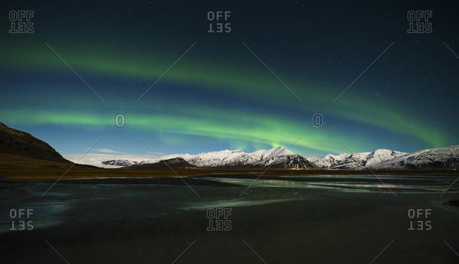 Iceland- Northen lights at night