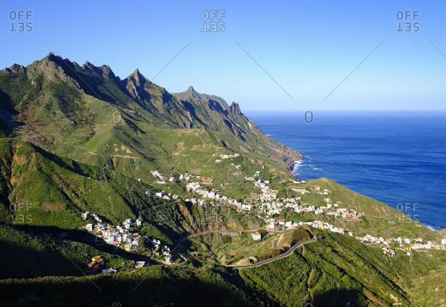 Spain- Canary islands- Tenerife- Anaga mountains- Taganana