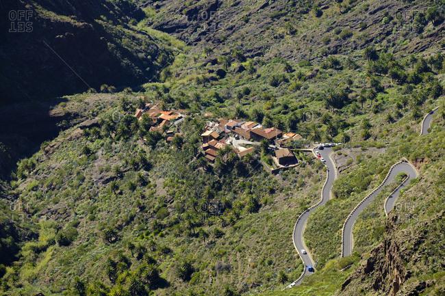 Spain- Canary islands- Tenerife- Teno mountains- Masca and Barranco de Masca