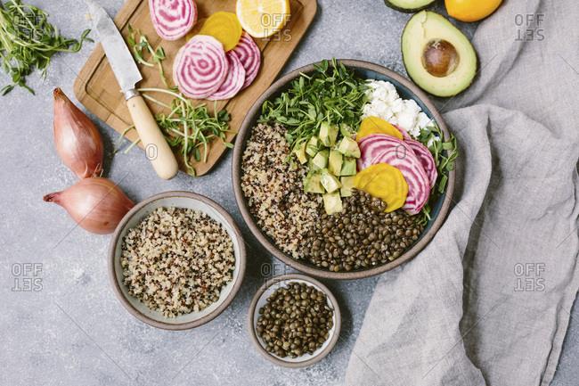 Spring abundance bowl