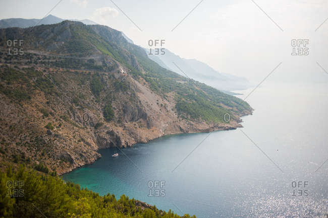 Scenic view of Makarska, Croatia