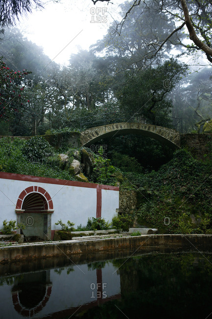 Bridge in the Sintra Mountains