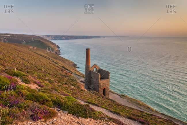 United Kingdom, England, Cornwall . Wheal Coates, near St. Agnes