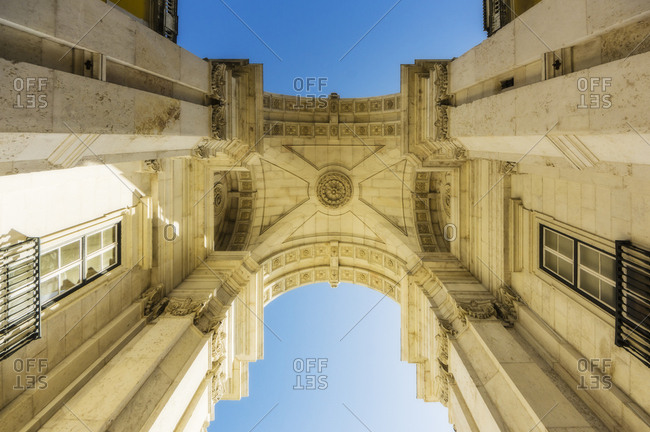 Portugal- Lisbon- Arco da Rua Augusta