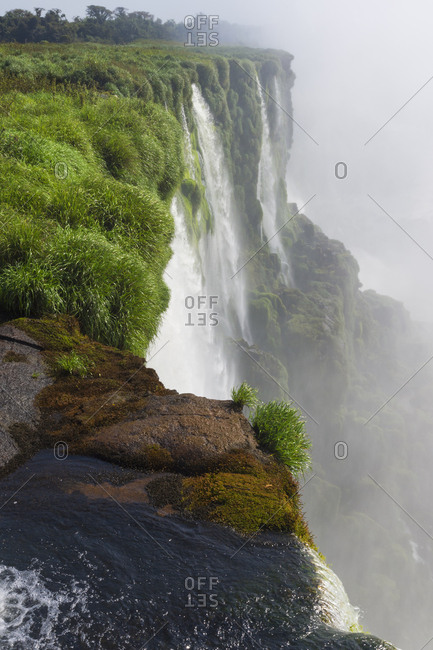 Iguazu Falls from Argentinian side, UNESCO World Heritage Site, on border of Argentina and Brazil, Argentina, South America