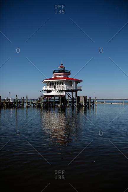 February 19,2017 - Cambridge, Maryland: Choptank River Lighthouse