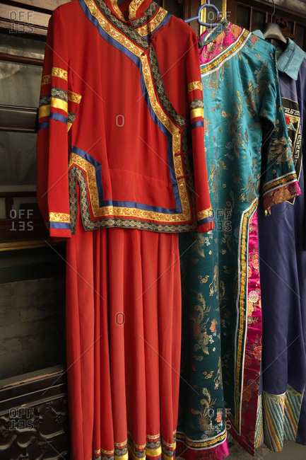 Richly Colored Traditional Chinese Clothing