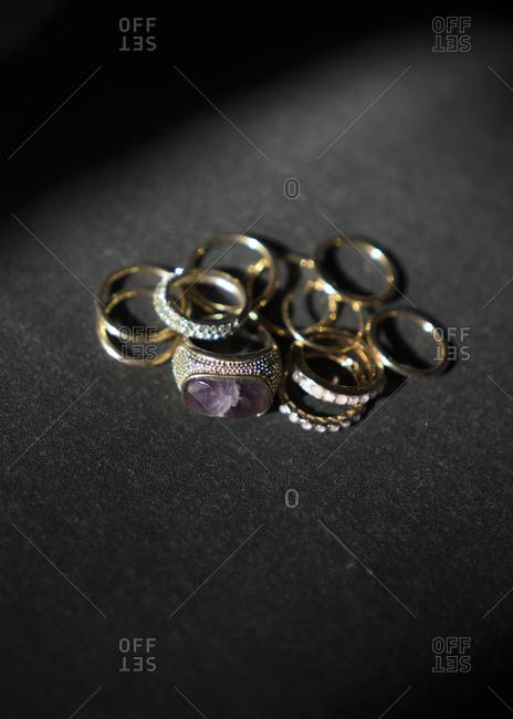 Ring still life