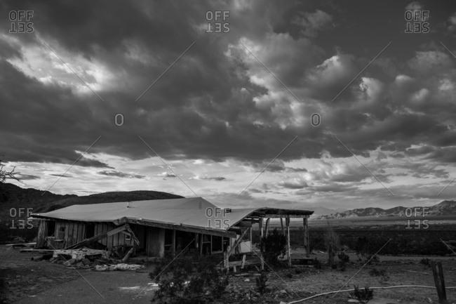 Abandon house in the Mojave desert, California