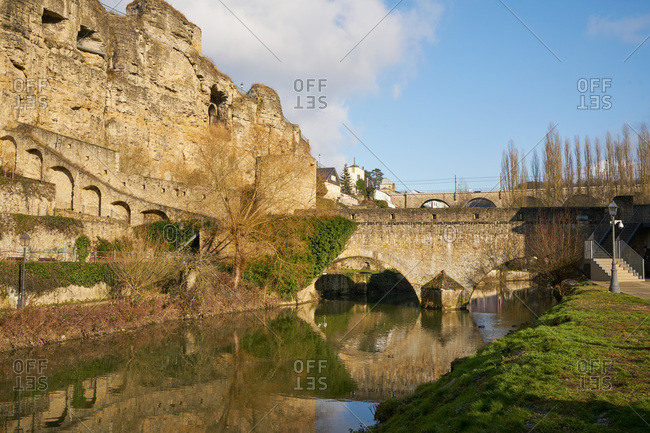 Casemates du Bock in Luxembourg