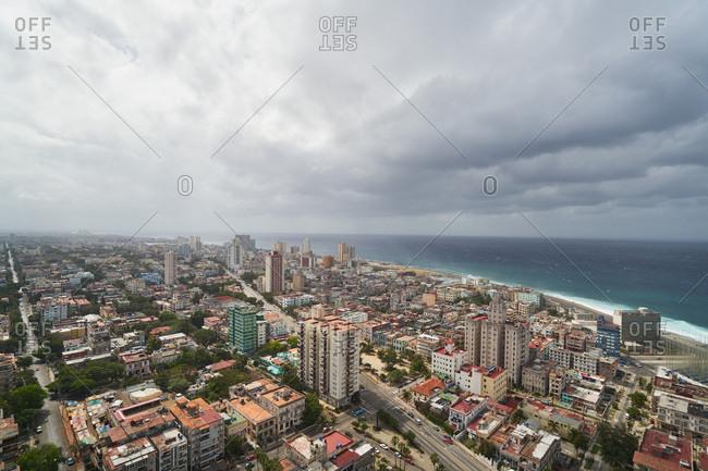 Bird's eye view of Havana, Cuba