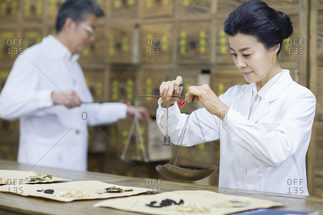 Chinese doctors fill the prescription