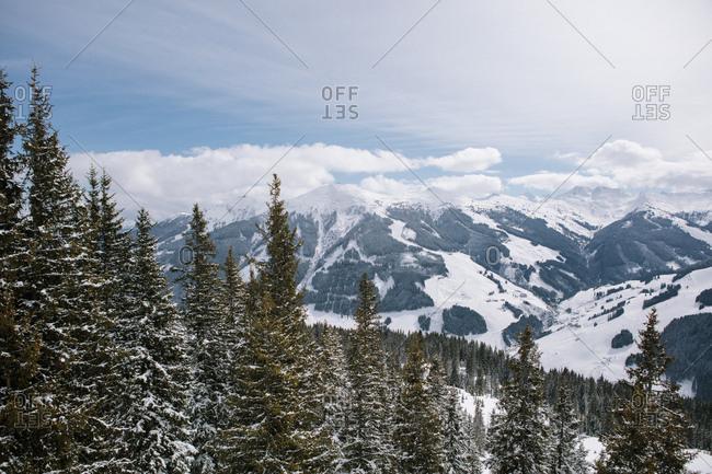 Kitzbuhel Alps, Saalbach-Hinterglemm, Austria
