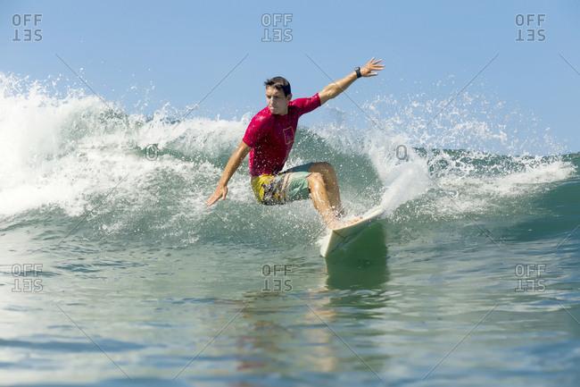 Indonesia- Bali- man surfing