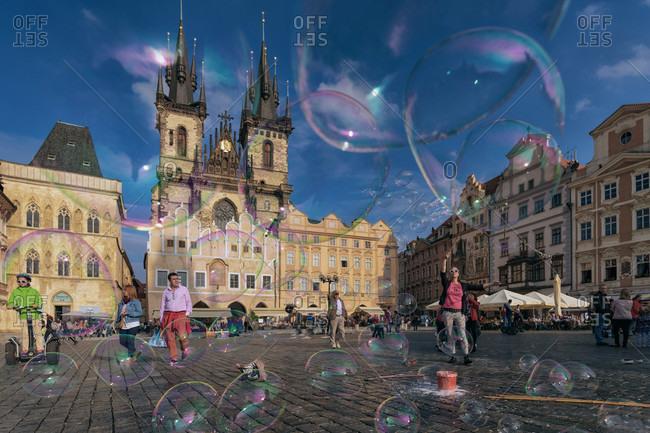 Old Town , Prague, Prague - October 6, 2015: Old Town , Stare Mesto (Old Town), UNESCO World Heritage Site, Prague, Czech Republic, Europe
