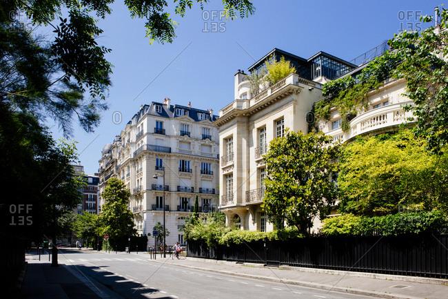 Buildings in Paris, France