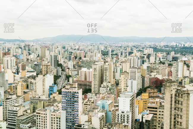 High rises in Sao Paolo, Brazil