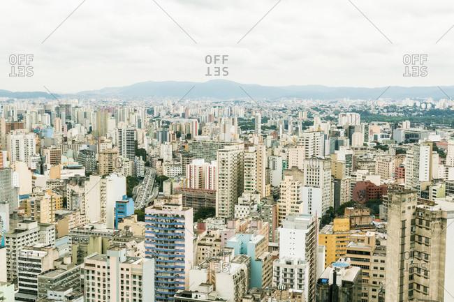 High rises in Sao Paolo, Brazil