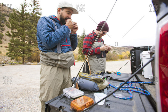 Fishing gear stock photos offset for Breckenridge co fishing