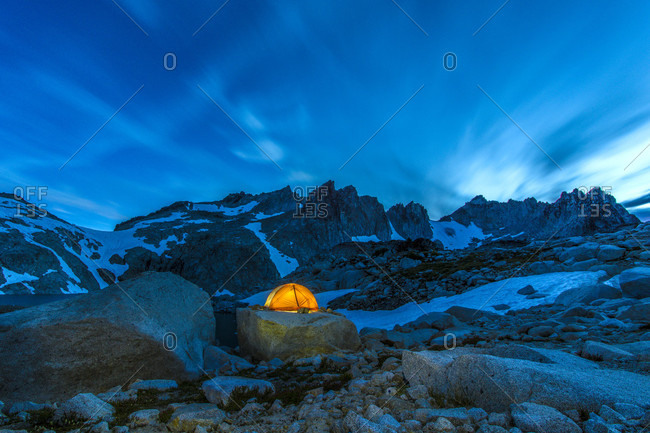 A Tent Near Little Annapurna, The Enchantments
