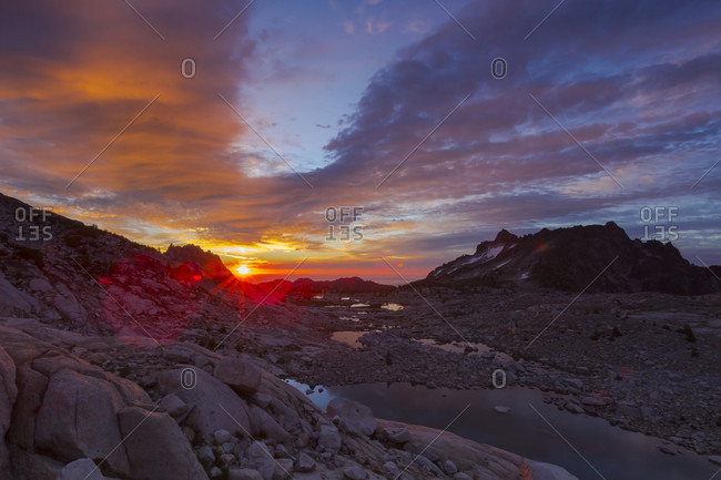 A Beautiful Sunrise At The Enchantments, The Core Zone