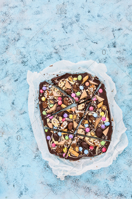 Chocolate and Candy Bark