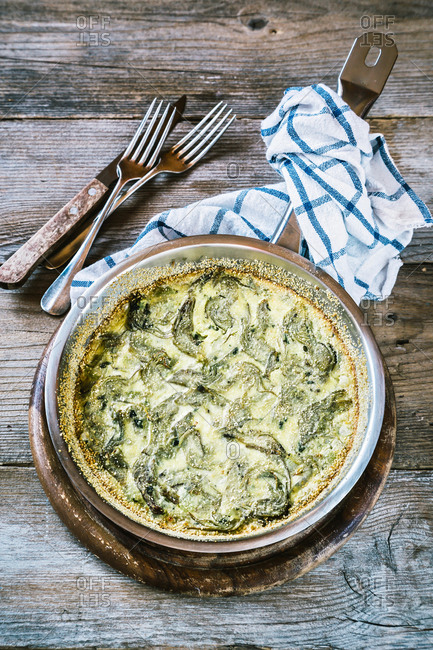 Clafoutis with Artichoke - Offset Collection