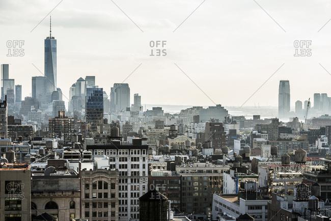 Downtown, Manhattan, New York, USA